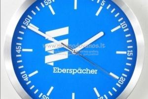 Sieninis laikrodis su aliuminio korpusu 25 cm