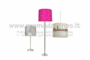 Reklaminės stovimo lempos