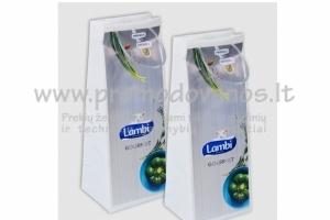 Plastikiniai maišeliai su cilindro formos rankenomis Luxury