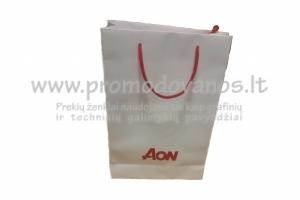 Popieriniai maišeliai su virvelinėmis rankenomis B1, spauda 1 spalva