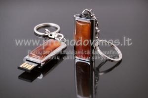 Metaliniai USB su gintaru