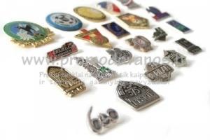 Metaliniai ženkliukai individualaus dizaino