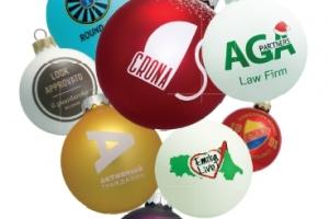 Kalėdiniai žaisliukai -burbulai