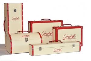 Odiniai lagaminėliai ir dežutės
