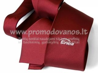Kaklaraištis su logo spauda
