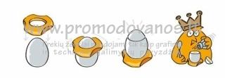 Įrankis kiaušinio lukšto tvarkingam nuėmimui