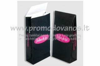 Poperiniai maišeliai su vokeliniu užsegimu