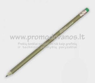 Ekologiški pieštukai iš perdirbtų popierinių pinigų