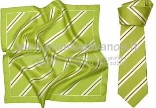 Kaklaraiščiai ir skarelės vienoje spalvinėje gamoje