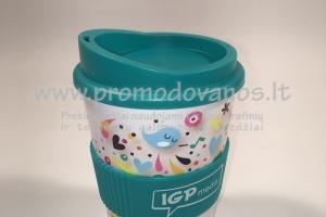 Termo puodelis su užsukamu dangteliu 300 ml