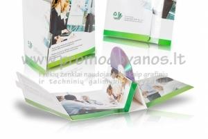 Išlankstomas CD dėklas, su reklamine spauda