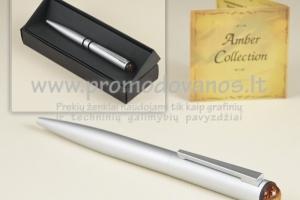 Rašikliai su gintaru