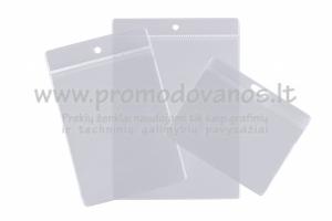 Plastikiniai dėklai identifikavimo kortelėms