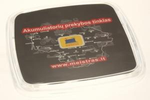 Plastikiniai padėkliukai grąžai