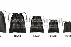 Užrišami neaustinės medžiagos maišeliai