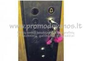 Metaliniai pakabukai liftų meistrams