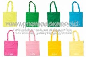 Medvilniniai maišeliai  38x42 cm spalvoti