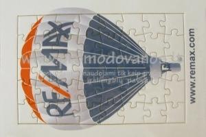 Delionės Puzzle 19x27 mm, su rėmeliu