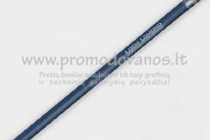 Ekologiški pieštukai iš perdirbtos džinsinės medžiagos
