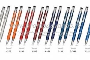 Rinkinys: metalinis tušinukas ir pieštukas CPT