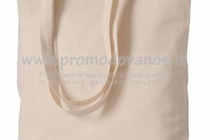 Medvilninis maišelis MONACO ilgomis rankenomis