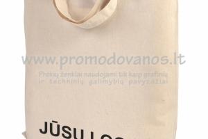 Medvilninis maišelis CANNE trumpomis rankenomis