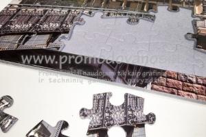 Delionės Puzzle 27x40 mm, su rėmeliu