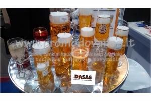 Žvakės - alaus bokalai