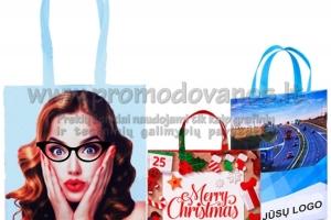 Personalizuoti medžiaginiai maišeliai su pilna spauda 2D