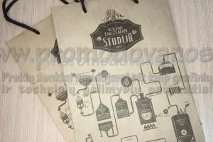 Popieriniai maišeliai kraftinio popieriaus