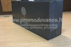 Popieriniai maišeliai su įspaudu