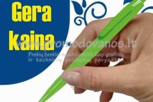 Plastikiniai tušinukai GERA KAINA