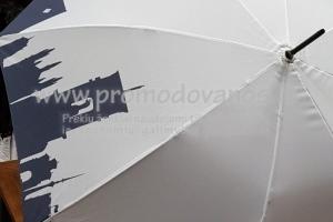 Lietsargiai su pilnaspalve panoramine spauda